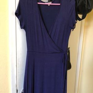 Charlotte russe navy dress